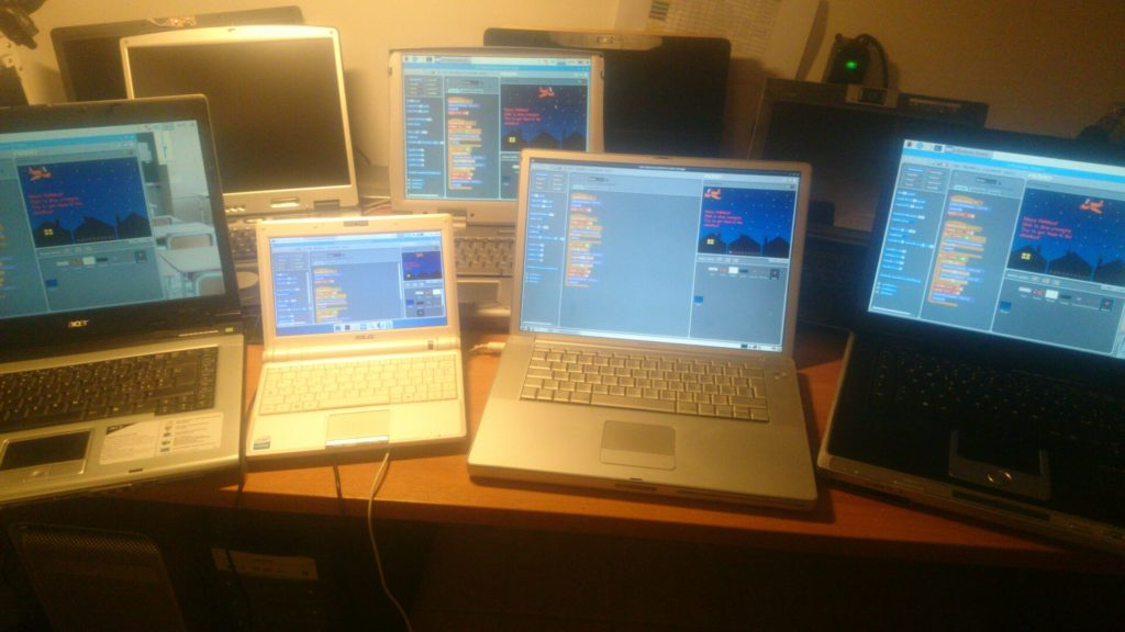 portatili rigenerati con GNU/Linux e Revivo con Scratch